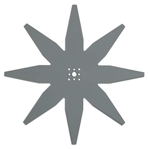ARNOLD AR7 passend für Ambrogio, Stiga Mähroboter und weitere Marken 1111-S6-0031 Mähklinge, Schwarz