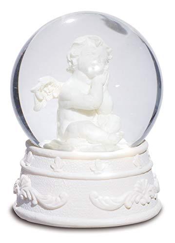 Bric a breizh Schneekugel, Engel, 6/5 cm