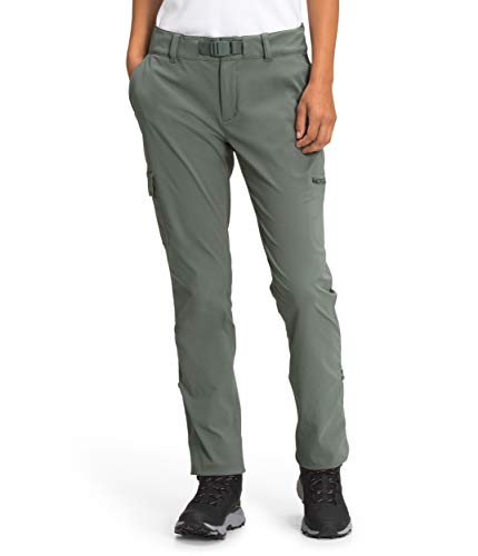 The North Face Women's Paramount Mid-Rise Pant, Agave Green, 6-REG