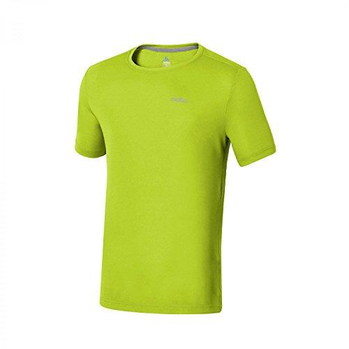 Odlo T-Shirt pour Homme S/S col Rond George XL Citron Vert