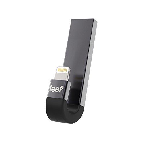 Leef iBridge 3 64 GB Externer IOS Speicher für Apple iPhone - Schwarz