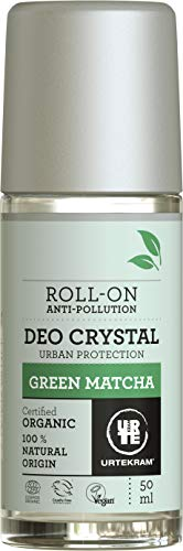 Urtekram Green Matcha Deo Crystal Bio, Urban Protection, 50 ml