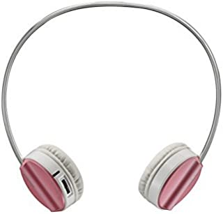 Rapoo H6020 Bluetooth 4.1 Stereo Headset Wireless Headphone with hidden Microphone - 16 Hours Play Time (Pink)