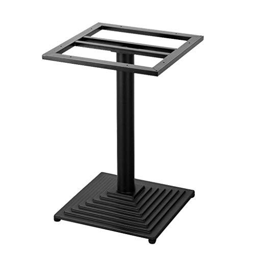 ZXL tafelsteunen, gietijzeren onderstel, geschikt voor restaurants, hotels, koffietafels, bars en tafels voor buiten, zwart