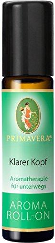 PRIMAVERA Aroma Roll-On Klarer Kopf 3-er PACK 3x10ml