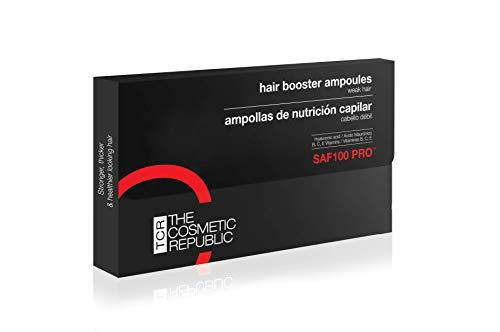 THECOSMETICREPUBLIC - Ampollas de Nutrición capilar SAF 100 PRO - 10 unidades (1 x 3ml)