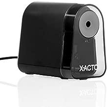 X-ACTO Pencil Sharpener | Mighty Mite Electric Pencil Sharpener, With Pencil Saver, SafeStart Motor, Black, 1 Count