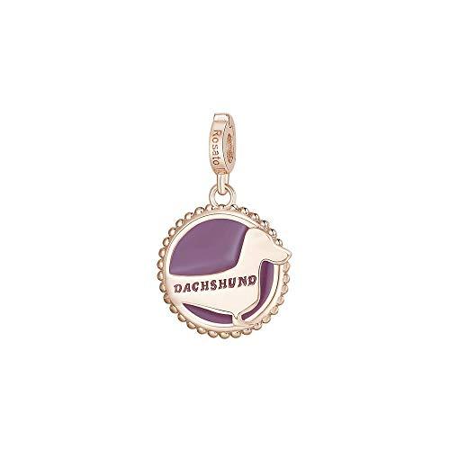 Rosato Charm zilver PVD rosé en nagellak - Bassotto - Storie- RZ117