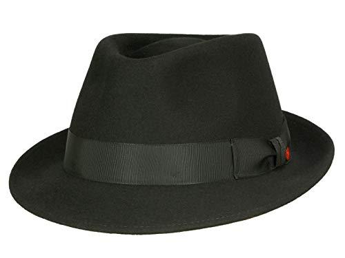 Mayser Homme Chapeau Trilby Troy noir