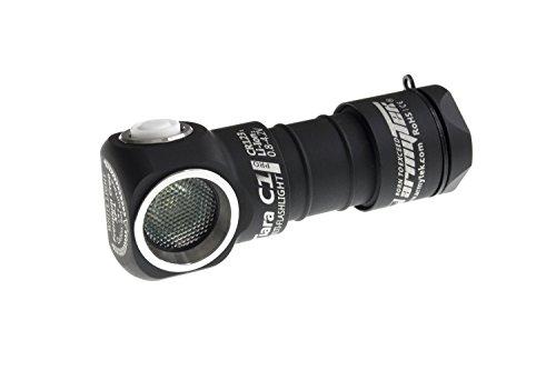 Armytek Tiara C1 Pro XP-L (warm) - Taschenlampe mit Band zur Nutzung als Stirnlampe