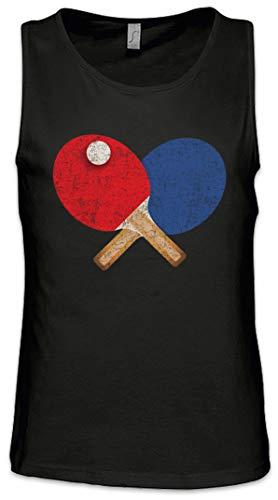 Urban Backwoods Table Tennis Tools I Men Uomo Canotta Tank Top Vest