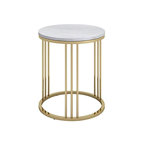 A-Yan-Q-Home Office Furniture Round Cocktail Table, Hotel Bar Coffee Tables Indoor Decoration Living Room End Tables Schoolgirl Bedroom Reading Table Pedestal Tables (Color : #1, Size : 40 * 55CM)