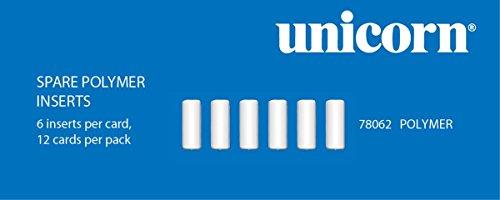 Unbekannt Unicorn Ultracore Polymer Einsätze 0,25g für Dart Steeldart Pfeile