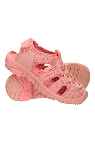 Mountain Warehouse Sandalias Bay para niños - Sandalias de Neopreno, Zapatos de Verano Ajustables y cómodos para niños, Entresuela - Ideal para Caminar, Viajar Coral 28