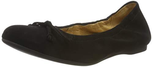 Gabor Shoes Gabor Casual, Ballerines Femme, Noir (Schwarz 17),38 EU