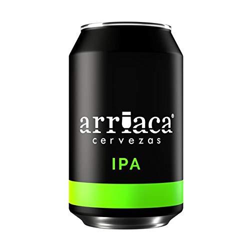 Cerveza Artesanal ARRIACA IPA 33cl (Caja 24 latas)