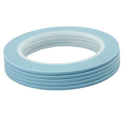 マスキングテープ 高耐熱塗装マスキングテープ 自動車 車両塗装養生テープ ビニール基材 3mm 5巻
