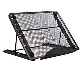 Ventilated Adjustable Light Box Laptop Mesh Stand Extra Geometry Tool,Multifunction (6 Angle Points) Skidding Prevented Tracing Holder for A4 LED Tracing Light Board &Diamond Painting