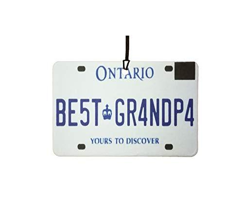 Ali Air Freshener Ontario - Best Grandpa Nummernschild Auto Lufterfrischer