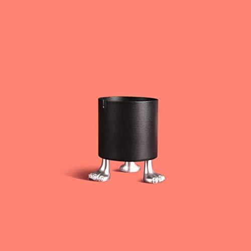 El plástico ABS de cigarro, se Puede Utilizar en oficinas o Casas en Interiores y Exteriores, encimeras de Hierro Redondas están Disponibles en Colores Interiores (Color: pies de Plata Verdes)