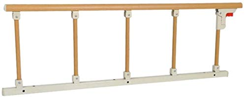 WYH Bettgeländer für ältere Menschen und Babys, faltbar, Edelstahl, robust, 120 x 40 cm