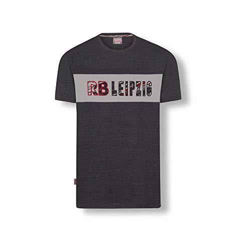 RB Leipzig Blizzard T-Shirt, Blau Youth Größe 128 T-Shirt, RasenBallsport Leipzig Sponsored by Red Bull Original Bekleidung & Merchandise