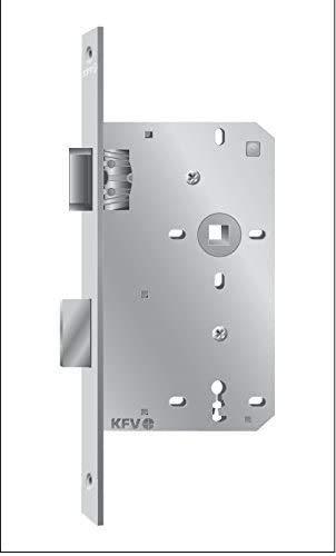 KFV Extra Schmales Zimmertür-Einsteckschloß BB 72 Links