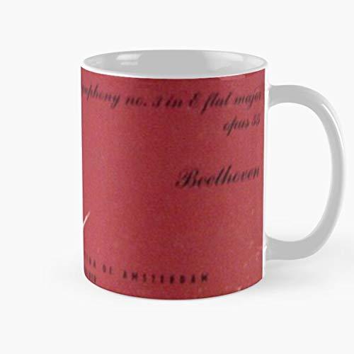 N\A Concertgebouw Symphony Beethoven Eroica Orchestra Amsterdam 1950 Mejor Taza de café de cerámica de 11 onzas