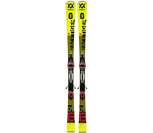 Völkl Racetiger SL INKL. rMotion 12 GW Ski avec Fixation Noir 160 cm