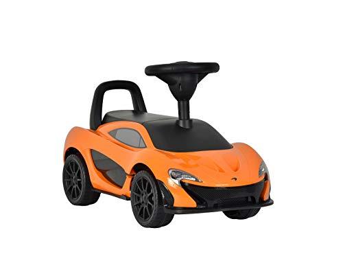 Toyas McLaren P1 Rutschauto Kinderauto Bobby Car Big Bobby Car Rutscher 6 Songs am Lenkrad mit Rückenlehne