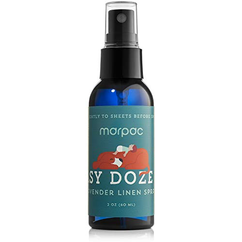 Marpac Yogasleep | Easy Doze It (Lavender Sage) | Premium Aromatherapy Linen and Pillow Spray | Natural Essential Oil Blend for Sleep and Relaxation | 60 ml
