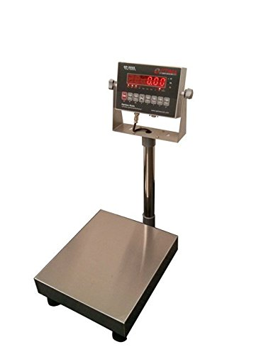 Optima Scales OP-915-1214-100 NTEP Bench Scale - 12 x 14 in.44; 100 x 0.02 lb.