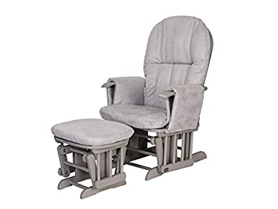 Tutti Bambini–GC35Deluxe Glider sillón y taburete (Natural)