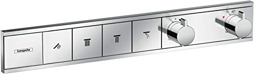Hansgrohe (HB7HL) 15380000 Hansgrohe RainSelect thermostaat inbouw voor 2 verbruikers chroom armaturen Thermostaat 4 Verbraucher chroom