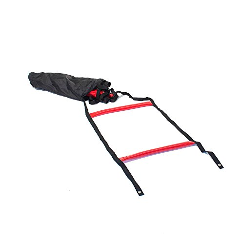 Agility Ladder - Black/red + Storage Bag
