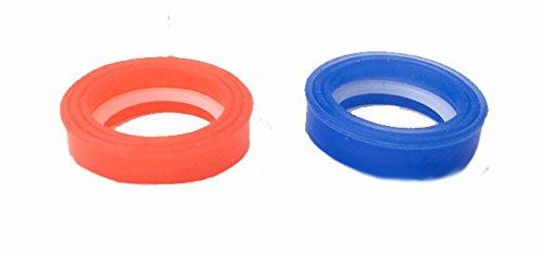 Tap Magician Piezas de repuesto y kits de reparación completos para cartuchos de disco de cerámica de cuarto de vuelta de 1/2' (SG12 juntas de silicona solamente)