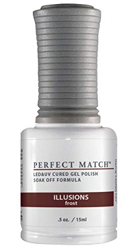 LECHAT Perfect Match Nail Polish, Illusions, 0.500 Ounce by LeChat