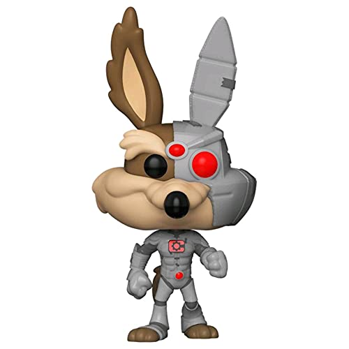 POP! DC Looney Tunes 866 Wile E.Coyotte as Cyborg Exclusive