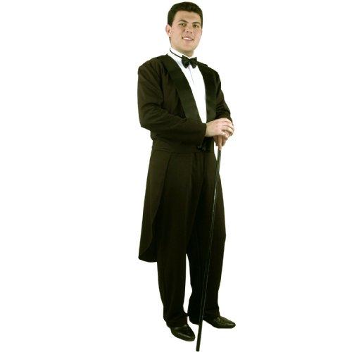Charades Costumes Men's Formalities Adult Costume Medium Black