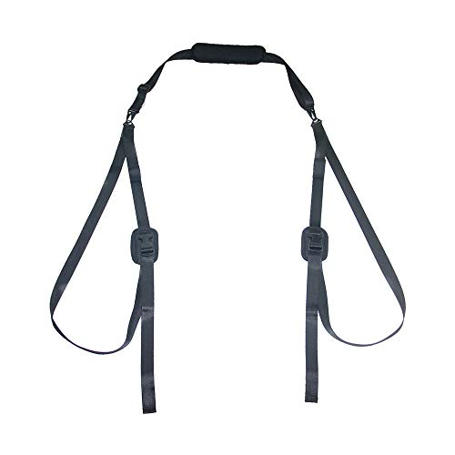 Okeemaster Paddleboard Carry Strap Kayak Canoe SUP Stand up Surfboard Carrying Belt with Paddle Loop Surfboard Nylon Carry Sling