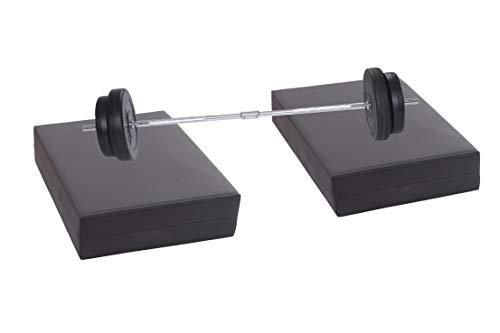 bilanciere bodybuilding RESINGOMM Cuscini ammortizzanti per bilanciere Bodybuilding Assorbono Vibrazioni e abbattono Il Rumore