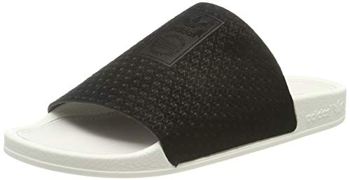adidas Damen Adilette Luxe W Dusch-& Badeschuhe, Schwarz (Core Black/Core Black/Off White Core Black/Core Black/Off White), 39 EU