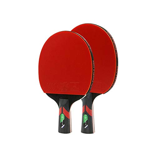 Best Buy! Aohi WXQ-XQ Table Tennis Racket, Horizontal Shot, Pen-Hold, Six-Star 2 Pack Table Tennis R...