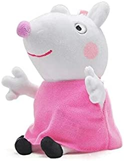 19Cm George Animal Stuffed Plush Toys Cartoon Family Friend Pig Party Dolls for Girl Children Must Have Tools 4 Year Old Girl Gifts Favourite Movie Superhero Coloring