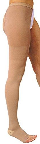 MANIFATTURA BERNINA Variform 1408 (talla 4) - Media de Compresión Graduada Clase 1 (18-21 mmHg) media médica pierna derecha