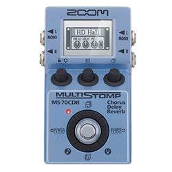 gitarren effekte multieffektgerät zoom multistomp ms70cdr effektpedal