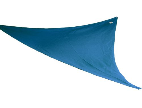 Coolaroo Shade Sail, Triangle Party Sail , (9'10'), Blue