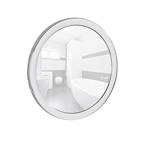 Miroir cosmétique grossissant mural - 500%, miroir de Ø 12,5 cm, Ø 14,5 x 3,5 cm