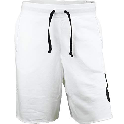 Nike Alumni French Terry - Pantalones cortos, Todo el año, Hombre, color negro/blanco, tamaño M