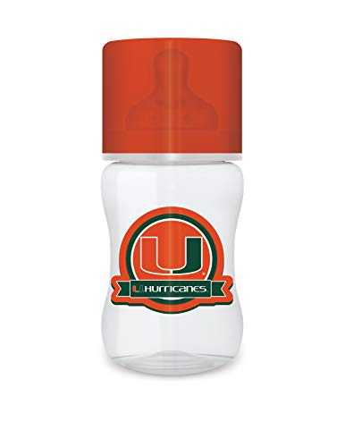 Buy Bargain Baby Fanatic NCAA Legacy Infant Bottle, Miami Hurricanes, 1 Pack
